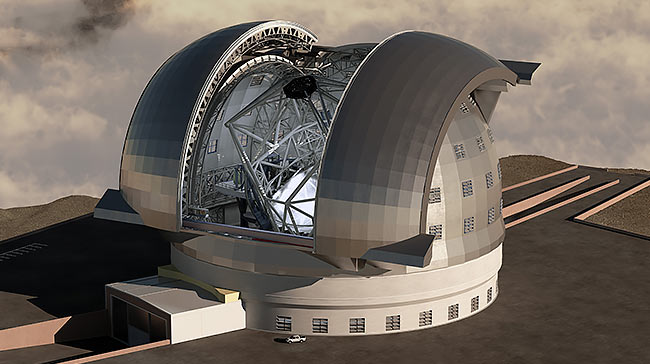 European Extremely Large Telescope (E-ELT), European Southern Observatory referansprojekt